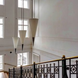 Staircase and lamps in the Museum of Applied Arts (MAK) by whom and when I don't know....