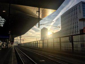 3. Moinsen. Vienna Haupbahnhof Train Station, Vienna, State of Vienna, Austria