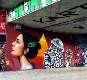 Immer wieder cool neue Streetart Motive am Wiener #Donaukanal zu entdecken. Diese beiden stammen von @facte und...