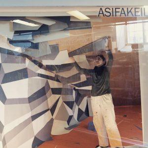 Riesenaufwand (again) für upcoming installation bei unseren #nachbarn #asifakeil @q21_vienna von @beatrix.hollenstein & ...