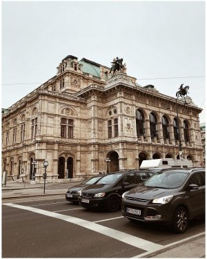 This view just never gets old... . . . . #vienna #wienerstaatsoper #architecture ...
