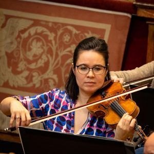 #VIOLA Claire Dolby - Member of the orchestra since 2006 ____ ▶️More: wienersymphoniker.at ...