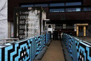 I weed #vienna #modern #modernart #colours #streetart #graffiti