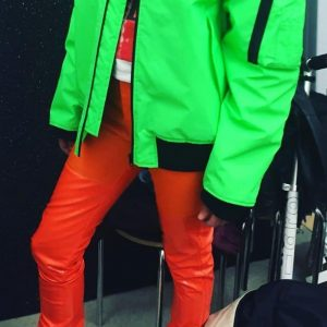 #WendyJim#neon#green#orange#2015