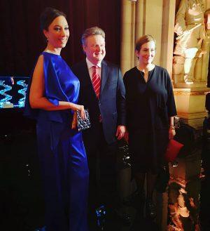 Akademie-Präsidentin Ursula Strauss, Bürgermeister Michael Ludwig und Akademie-Geschäftsführerin Marlene Ropac . . . . . #österreichischerfilmpreis2019 #filmpreis...