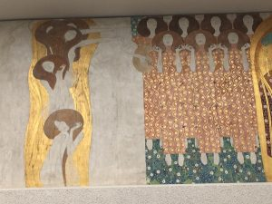 Klimt's Beethoven Frieze, created for the Secession exhibition of 1902 and marking the start of the painter's...
