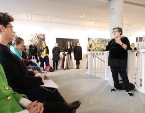 #xhibitE EröffnetE (soeben) @akbild #eschenbachgasse #neueröffnung #rundgang Akademie der bildenden Künste Wien