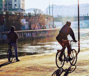 Endlich Sonne! ☀️🚲😊 #fahrradwien #igersvienna #lovecycling
