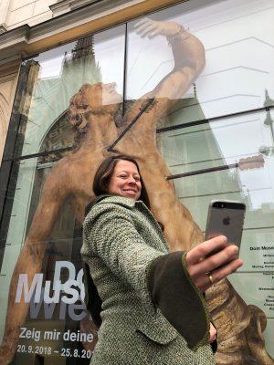Am nächsten Mittwoch den 16. Januar ist #MuseumSelfie Day 2019! Besucher_innen die ein Selfie mit sich und...