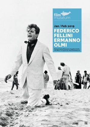 Federico Fellini / Ermanno Olmi. It's on from tomorrow through 2/28 @filmmuseumwien —