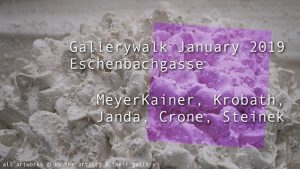 [NEW VID ONLINE] Gallery walk Eschenbachgasse Jan 2019 #art #Vienna #gallerywalk