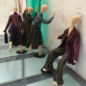 Went to see the exhibition 'A Viennese Attire' at the Leopold Museum in Vienna. Loved the garments...