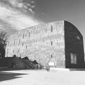 #vienna #museum #museumsquartier #blackandwhite #architecture Museum Quartier, Vienna Austria
