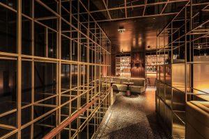Das Bistro Porto vom Hotel Triest. ⠀ .⠀ .⠀ .⠀ #dastriest #bistroporto #bar #barwien#viennabar #barlover #design #interiordesign...
