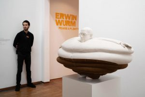 """Poetry and art are healing the universe."" Erwin Wurm. Hit like if you ..."