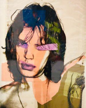 #wien #mumok #andywarhol #andywarholart #warhol #art #artwork #weekend #gaytraveler #mickjagger #painting