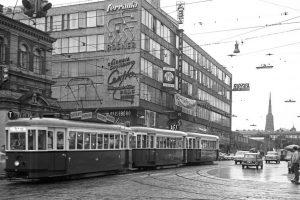 Was gefällt dir besser? Neu oder Alt? 😊 Straßenbahn mit 2 Waggons 🧐 Das AEZ um 1969...
