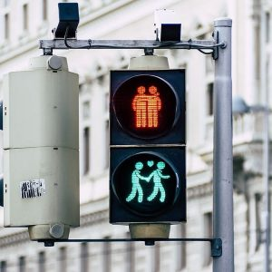 Have you already seen Vienna's cute traffic lights? 🚦💕 by @tomashphotography #viennanow