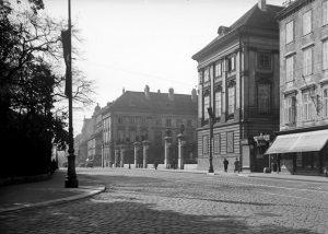 Josephinum um 1939 (k. k. medizinisch-chirurgische Militärakademie, Josephsakademie), ein Institut zur Ausbildung von Ärzten und Wundärzten für...