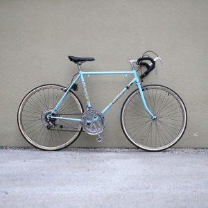 Finally done: full restoration of a old Bianchi Randonneur bike . . . #bikeshit #bikelove #cyclingstyle #steelframe...