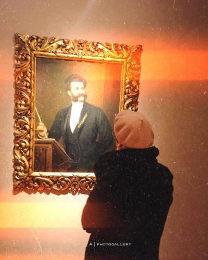 "here w/ ""waltz king"" 🎻 ____________ FEB '19 Wien Museum Johann Strauß Wohnung"