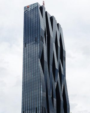 Vienna has some of the funkiest architecture DC-Towers