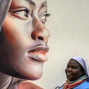 #africangirl - #museum s besuch #erweitert #horizonte - #sister #ordensschwester #gesichter #africa #afrika #albertina