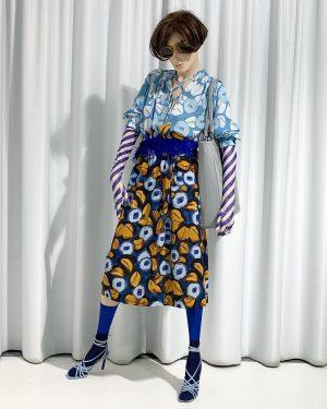 spring? #flowerdress #featherbelt #stripedgloves #driesvannoten #sandals #jacquemus #handmadebag #stiebichundrieth #socks #antipast #sunglasses #robertlarochevintage #ss19 #ourrahel #park_vienna #wien...
