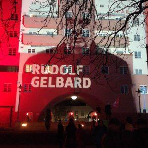Gedenken an Rudi #Gelbard. Karl Marx-Hof