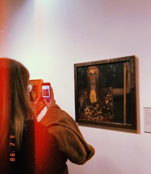 there's never enough klimt in my life (and never enough time mit meiner wienmuddi) // #faveartistever #byevienna...
