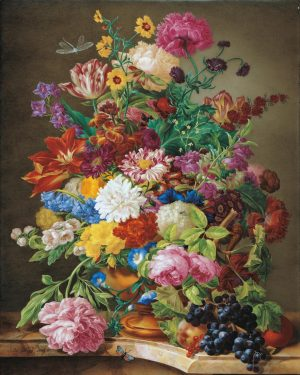 A little taste of tomorrow´s Valentine's Day... 💐 Did you know that Joseph Nigg who painted this...
