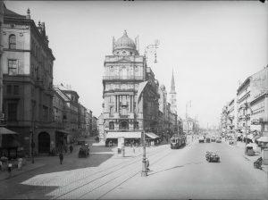Die Praterstraße verbindet den Praterstern mit der Innenstadt und ist eine der am stärksten befahrenen Straßen in...