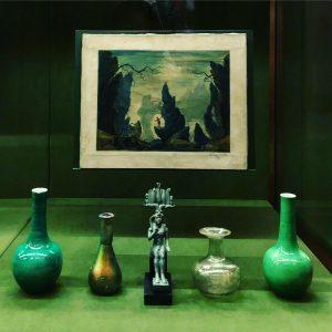 Очень занятная выставка в Музее истории искусств, кураторами которой выступили Wes Anderson и ...
