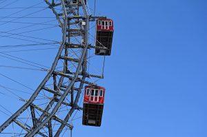 Non si può visitare #Vienna 🇦🇹senza far tappa al Prater, il parco pubblico più famoso della città....