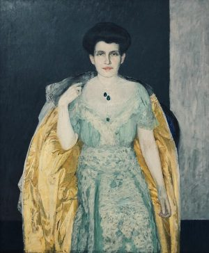 Portrait of Therese Bloch Bauer 1907 by #maxkurzweil