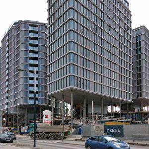 Noch Baustelle, aber es fehlt nicht mehr viel: Wohnbau von Renzo Piano in Wien. #wien #österreich #vienna...