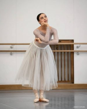 Beautiful @nikishafogo prepares for her debut in Coppélia tomorrow night! . . Wishing her a great show!...