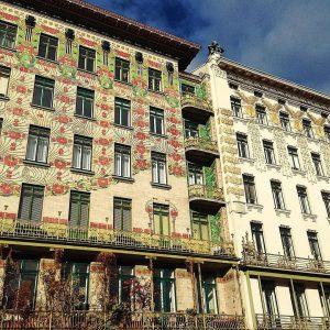 Jugendstil hat einen fixen Platz in der Wiener Architektur 🏠🏢 Vielen Dank für dein Bild, @jne.vie #wienliebe...