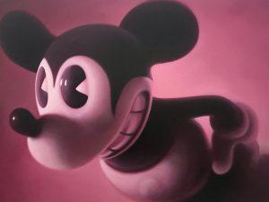 #gottfriedhelnwein Pink Mouse 2