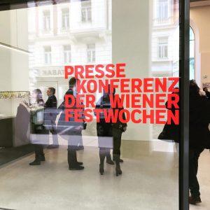Immer wieder aufregend. @wienerfestwochen #pressekonferenz #dieganzeblaseanwesend Studio Molière