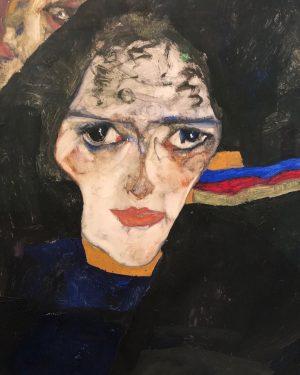 #egonschiele #vienna #woman #secessionist