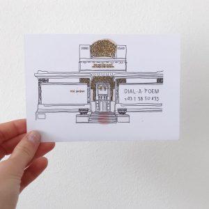 Die Wiener Secession 2015 mit einer Kunstinstallation von Udo Rondinone ✨#dialapoem