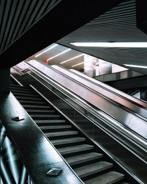 Subway Station | Vienna | February 2019 . . . trying to read the city in a...