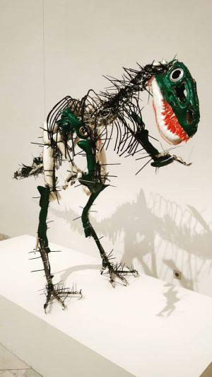Fuck Yeah, Dinosaur Art! #wien #vienna #campusmundi #vilagegyetemista #modernart #art #museum #wien #vienna #austria #österreich #erasmus #erasmuslife