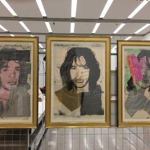 Andy Warhol - Mick Jagger #mumok #mumokwien #55dates
