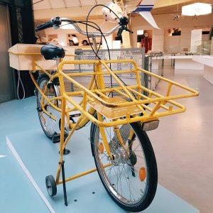 Persönlich anholen oder Lieferung via Fahrradkurier? 🚲 #tmvienna #technischesmuseumwien #exhibition #arbeitundproduktion #fahrrad #city #viennamuseum #museumlover #viennanow