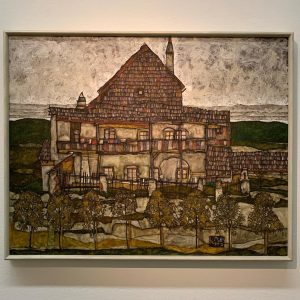 드디어 다녀온 레오폴드 미술관 소장되어있는 에곤쉴레 작품이 엄청많았다 첫 사진은 제일 좋았던 작품✨ #leopoldmuseum #egonschiele