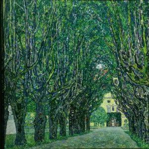Gustav Klimt - Avenue of Schloss Kammer Park, 1912.