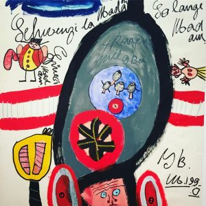 FLYING HIGH Art Brut @kunstforumwien #artblog #art #vienna #kunstforumwien