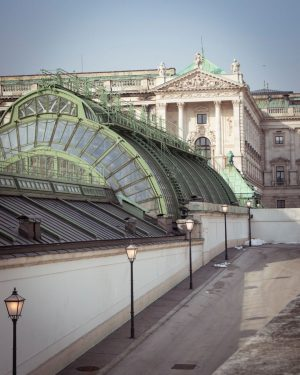 The beauty of Vienna brought tears to our eyes which ran down our cheeks. Or was that...